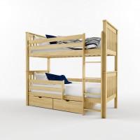 Двухъярусная кровать трансформер из массива лиственницы, Лиза