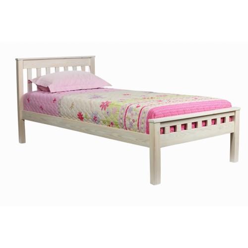 Кровать из массива лиственницы Лиза 1.1