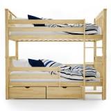 Двухъярусная кровать из массива