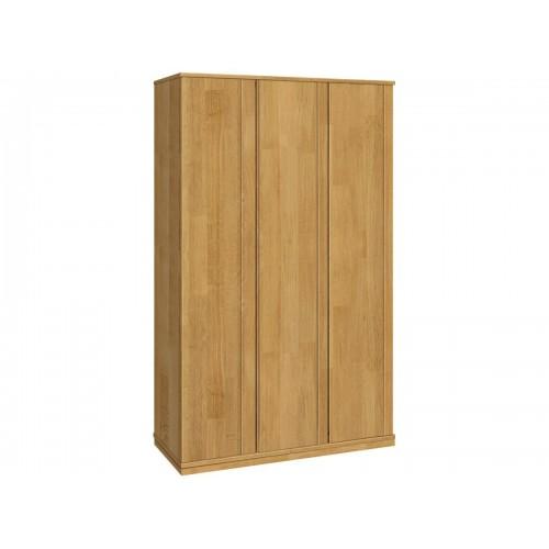 Шкаф трехстворчатый из массива дуба для одежды Жанет