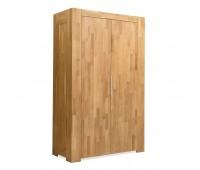 Шкаф платяной из массива дуба Фьорд (2-х дверный)