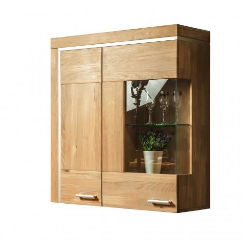 Шкаф навесной из массива дуба Хэлден