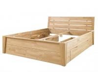 Кровать из массива дуба Даника