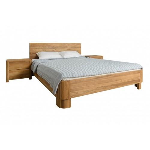 Кровать из массива дуба Лозанна