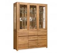 Шкаф комбинированный Лозанна 3 из массива дуба