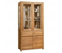 Шкаф комбинированный Лозанна 2 из массива дуба