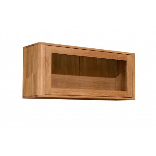 Шкаф навесной Лозанна 1 из массива дуба
