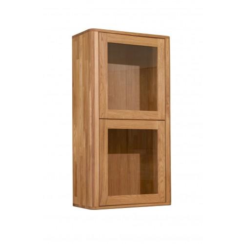 Шкаф навесной Лозанна 20 из массива дуба