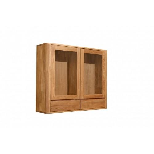 Шкаф навесной Лозанна 22 из массива дуба