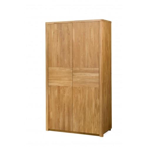 Шкаф из массива дуба Лозанна 2-ух дверный
