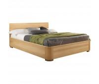 Кровать из массива дуба с подъемным механизмом Лозанна
