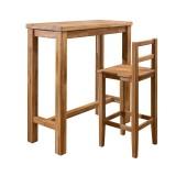 Столы и стулья барные из массива