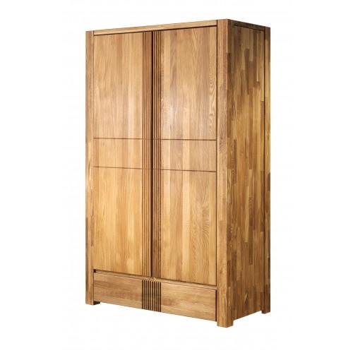 Шкаф из массива дуба Валенсия 2-хдверный