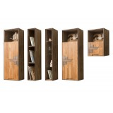 Шкафы навесные из массива